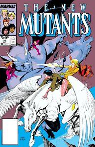 NEW MUTANTS (1983) #56 (Bird Brain Appearance) - Back Issue