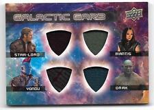 2017 Marvel Guardians of the Galaxy 2 Galactic Garb QUAD QM-6 Star Lord Daax