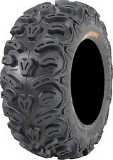 Set (2) 25-10-12 & (2) 25-8-12 Kenda Bear Claw ATV UTV 8 ply Radial K587 Tires