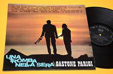 GASTONE PARIGI LP UNA TROMBA NELLA SERA 1°ST ORIG ITALY 1966 EX+ TOP JAZZ