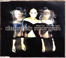 CD SINGLE promo DEBELAH MORGAN baila conmigo RARE SPANISH SUNG dance with me 01