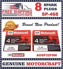 8 pcs Motorcraft Spark Plug SP468 with Dielectric Grease & Anti-Size Lubricant