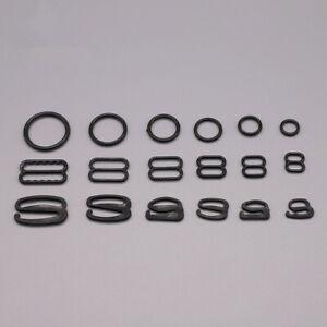 Wholesale 2000pcs Plastic Bra strap Adjustment Slides Rings Hooks Figure 0 8 9
