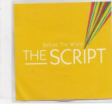 The Script-Before The Worst Promo cd single