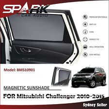 CT MAGNETIC CAR WINDOW SUN SHADE BLIND REAR DOOR FOR Mitsubishi Challenger 10-15