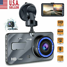 "4"" Vehicle 1080P HD Car Dashboard DVR Camera Video Recorder Dash Cam G-Sensor US"