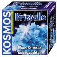 KOSMOS Experimentierkasten * Blaue Kristalle selbst züchten * BLAU & Schmuckdose