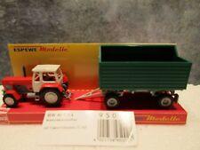 Busch (1:87) Fortschritt Tractor ZT303 w/High Side Trailer#95002- Special Price!