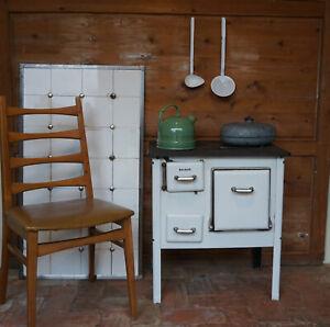 Schöner alter Baldur Küchenherd Kinderherd Stangenherd 40er 50er Küchenhexe