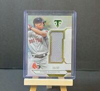 Xander Bogaerts 2018 Topps Triple Threads Jumbo Relic 12/27 Boston Baseball Card