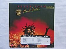 Peter Tosh Bush Doctor 1978 Rolling Stones COC-39109 Orig 1-A/1-A Promo Press NM