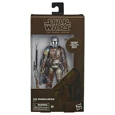 Star Wars The Black Series Carbonized Collection The Mandalorian Figure In Hand