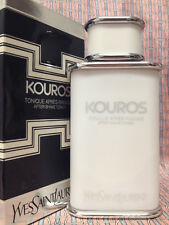 Vintage RARE early 1990s YSL Kouros LARGE FULL 3.3 oz 100 ml After-Shave Toner