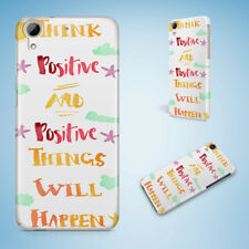 POSITIVE MOTIVATION QUOTES #92 HARD CASE FOR HTC DESIRE 816 820 826 10 PRO