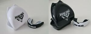 2 x Pro Gear Mouth Guard Boxing MMA Rugby Contact Sport Gum Shield Adult 11+ yrs