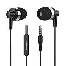 IN EAR EARPHONES HEADPHONE METAL NOISE ISOLATING EARPHONE FOR SAMSUNG LG ANDROID