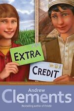 Extra Credit by Andrew Clements (2011, Paperback)