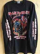 Iron maiden Long sleeve shirt Doro Saxon Dio ACDC Heavy metal Anvil Helloween