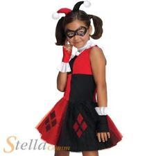 niña Harley Quinn Disfraz Tutú Dibujos Halloween Disfraz