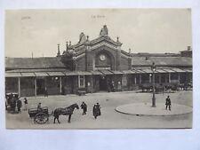 AK Laon La Gare Bahnhof