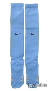 NIKE VAPOR GRIP OTC FOOTBALL SOCKS VALOR BLUE/BLACK TEAM ISSUE PE M(6-8)