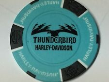 Harley Poker Chip  THUNDERBIRD HD   ALBEQUERQUE, TX    TOURQUOISE