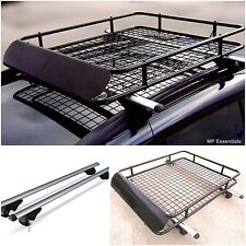 Lockable Aluminium Roof Rail Bars & Car Rack Tray for Mitsubishi Pajero Pinin
