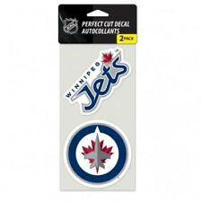 "Winnipeg Jets 2 Pack 4""x4"" Auto Decals [NEW] NHL Car Emblem Stickers"