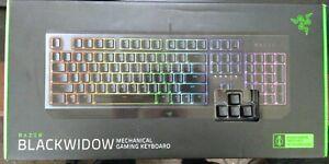 Razer Blackwidow Mechanical Gaming Keyboard - Green Switches