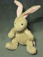 "VHTF Russ Luv Pets Suede Chamois HOPSITY Bunny Rabbit Bean Bag Plush LOVEY 6"""
