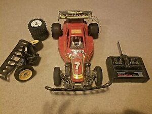 Radio Shack Red Arrow 1/10 scale RC car offroad buggy Vintage 1989