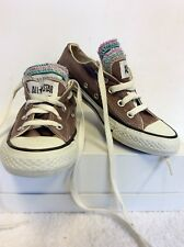 Unisex CONVERSE ALL STAR 5 COLORATE linguetta lacci Taglia 4/36.5