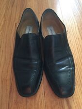 Mezlan AZORES  Black  Bicycle Toe Slip On Shoes 11.5 M Nice!