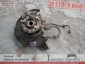 SUBARU SF FORESTER XT USED WHEEL HUB KNUCKLE - DRIVERS FRONT + SENSOR RING