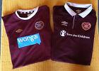 HEART OF MIDLOTHIAN Football Shirt Soccer Jersey Fussball Trikot Futball Calcio