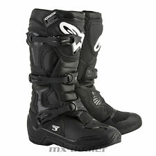 Stivali MX Alpinestars 2018 Tech 3 Nero EU 45.5 / US 11