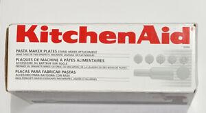 KitchenAid SNPA Pasta Maker Plates + Storage Stomper Food Grinder Attachment