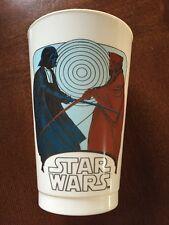 1977 Star Wars Darth Vader & Obi Coca Cola Plastic Cup Collector Edition (B107)