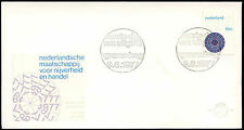 Netherlands 1977 Industry & Commerce FDC First Day Cover #C27606