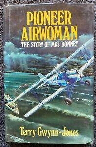 1979 PIONEER AIRWOMAN BONNEY SIGNED BY NANCY BIRD free EXPRESS