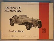 Pocher original Bauanleitung für Alfa Romeo 8 C 2600 Mille Miglia