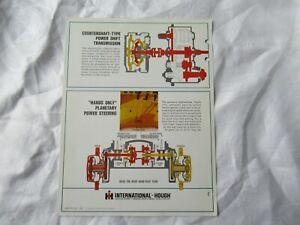 1968 IH International TD-20B bulldozer brochure