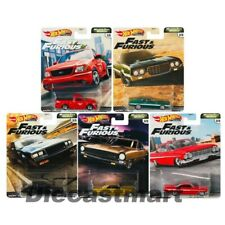 Hot Wheels 1:64 Fast & Furious V8 Motor City Muscle Set of 5 Diecast GBW75-956G
