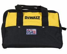"DEWALT Part # N037466 13"" 6 Pocket Heavy Duty Nylon Canvas Contractor Tool Bag"
