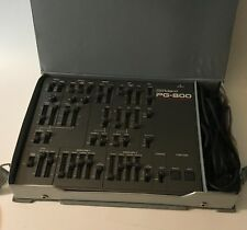 Roland PG-800 Synthesizer Programmer w/ Case & Cable - for JX-8P, MKS-70, JX-10