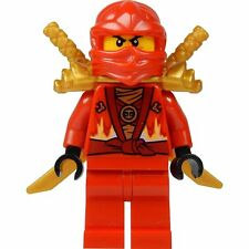 LEGO® Ninjago: Kai Minifig (Red Ninja) with Two Gold Swords - Limited Edition