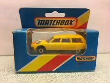 Diecast Matchbox Citroen CX Break Near Mint in Box