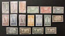 Timbre MAROC / MOROCCO Stamp (Colonie) Yvert et Tellier n°63 à 79 n* (Cyn25)