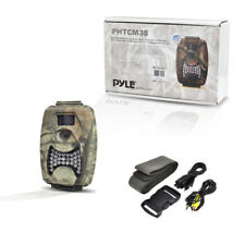 Pyle PHTCM28 Camouflage Night Vision Wild Trail Camera Record Video Pictures