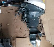 9.5 HP Johnson Evinrude outboard lower unit gear case